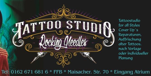 Merlins Rocking Needles Tattoo